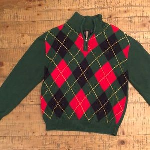 Boys Izod Christmas Sweater